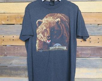 0383 - 3D Emblem - Down To Earth - Nature Wear Shirt