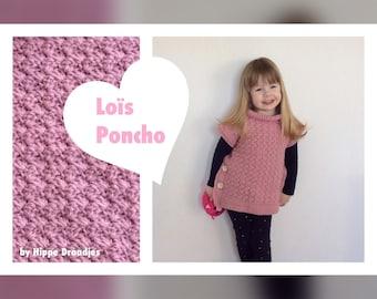 Lois Poncho US Crochet pattern