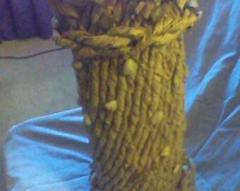Sculptured Paper Vase