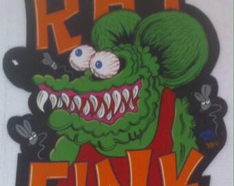 Vintage Hand Painted Wooden Sign, Car Club, Rat Rod, Humor, 23 x 17, Garage Decor, Man Cave Decor