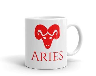 Zodiac Mug:Aries