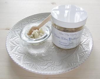 Rosemary Vanilla|Whipped Sugar Scrub|Whipped Body Scrub|Natural Self Care|Thank You Gift For Her|Skin Care|Emulsified Scrub|Essential Oil