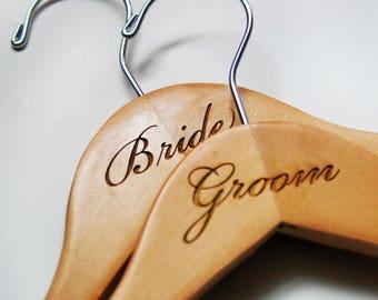 Engraved Wood Hangers