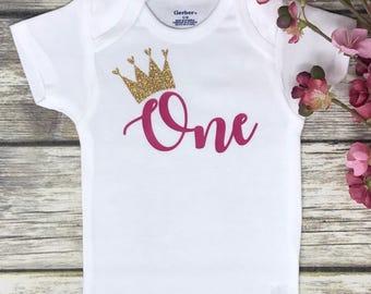 First Birthday Onesie   1st Birthday Onesie   Personalized Birthday Onesie   Custom Birthday Onesie   Birthday Baby