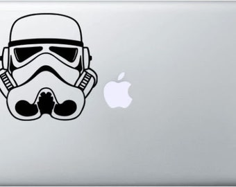 TRORM TROOPER STAR WARS MacBook sticker