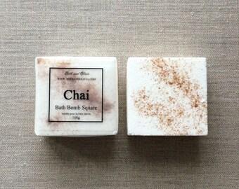 Chai Bath Bombs, bath bombs, Cinnamon bath bomb, vanilla bath bombs, Tea bath bomb, Christmas gift, stocking stuffers, gift for Tea lovers