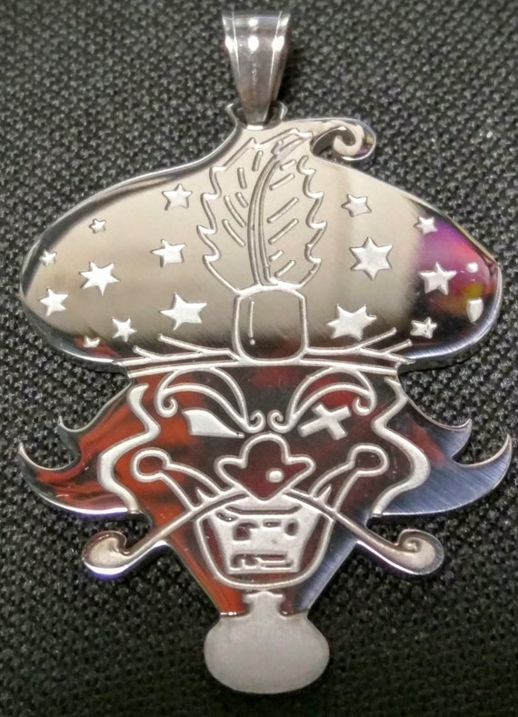 ICP Insane Clown Posse GREAT MILENKO Stainless Steel Charm