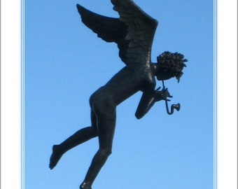 Milles Angel Musician, Missouri Botanical Garden