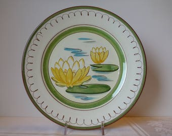 Stangl Water Lily 9'' Plate #3808
