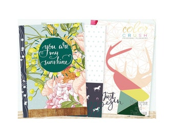 A5 Planner Inserts - Planner Inserts - Planner Refill - A5 Color Crush Inserts - Staying Inspired - Webster's Pages - 513517
