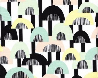 Free Spirit Fabrics Erin McMorris Distrikt Echo in Spring - Half Yard