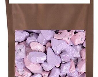 Edible Beach Sea Side Rocks For Cake Decoration and Candy Buffets (8oz Princess Rocks)