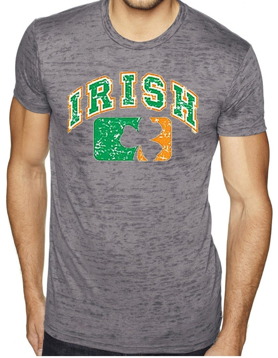 Men's St Patrick's Day Shirt My Official Drinking Shirt Burnout Tee T-Shirt WS-15866-NL6110 1vhSfQyf3