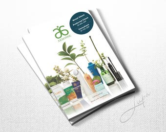 Arbonne Product Catalogue Discount Sticker - Navy – Instant Download – DIGITAL FILE