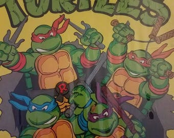 Vintage 1989 Teenage Mutant Ninja Turtles Factory Sealed Colorforms Set