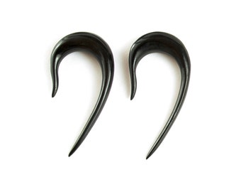 "Hook Gauge Earrings Horn Gauges Expanders 16g 14g 12g 10g 8g 6g 4g 2g 0g 00g 1/2"" - GA001 H G2"