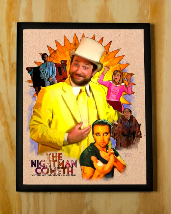 The Nightman Cometh Charlie Kelly Its Always Sunny in