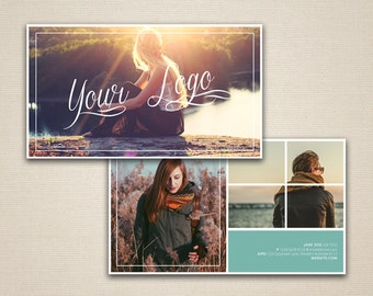 Photography Business Card Template // Marketing Photoshop PSD