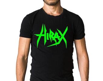 Hirax Band Green Logo T-Shirt