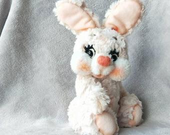 handmade rabbit teddy bear