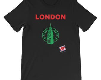 London the City t shirt gift unlike New York or Paris it's inspirational and vintage you can see Harry Potter, Star Wars, & Game of Thrones