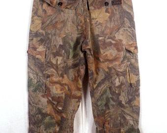 vtg Liberty euc Advantage Timber Camo Camouflage Hunting Pants sz 28-30