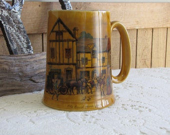 Woods and Son Beer Stein Vintage Drink and Barware 1940-1950