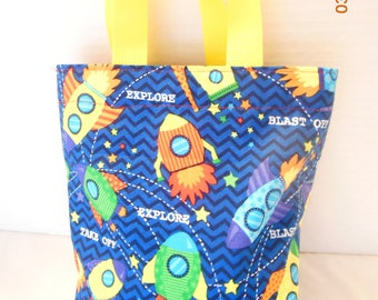 Rockets and Space Ships Tote/Gift Bag