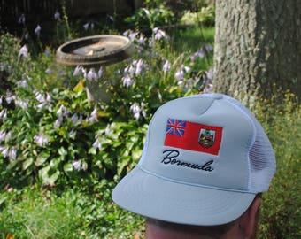 Cool 90's Bermuda Vintage Snapback Trucker Hat