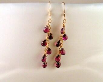 Semiprecious Earrings - Amethyst