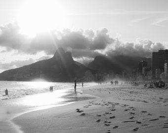 Rio de Janeiro beach print