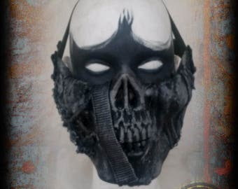 Azgeda mask - type 3 - inspired on the 100 - post apocalyptic skull face
