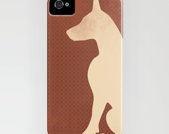 Doberman Dog on Phone Case - Samsung Galaxy S7,   iPhone 6S, iPhone 6 Plus, Gifts for Dog Owners, Doberman Gifts, iPhone 8