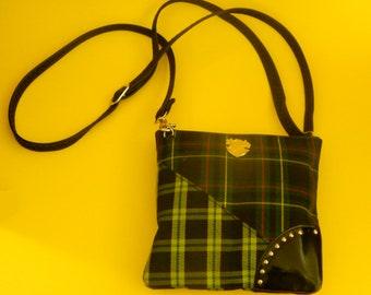 Madford plaid double tartan purse now reduced 20 percent