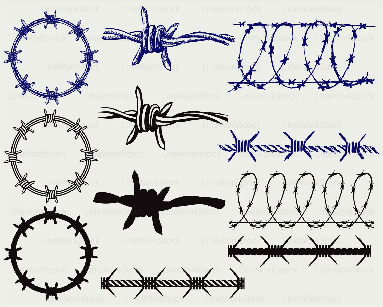 Berühmt Stacheldraht Designs Galerie - Der Schaltplan - triangre.info