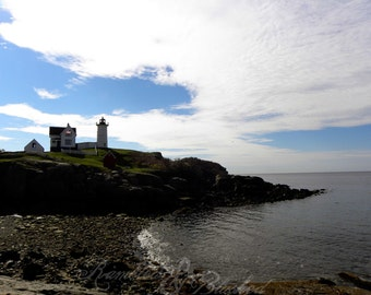 Maine-Nubble Lighthouse- Fine Art Photography