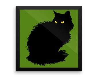 Black cat Halloween decoration - INSTANT DIGITAL DOWNLOAD