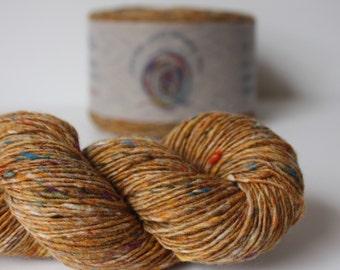 Spinning Yarns Weaving Tales - Tirchonaill 571 Carnival Custard 100% Merino 4ply