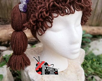Cabbage Patch Inspired Wig Beanie