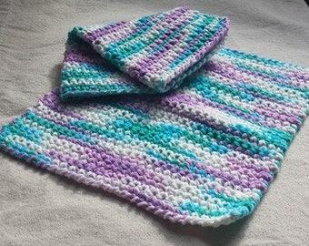 2 piece - CupCake Color WashCloths