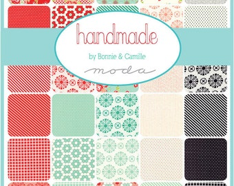 Moda Handmade Charm Pack by Bonnie and Camille. New Fabric Just Arrived