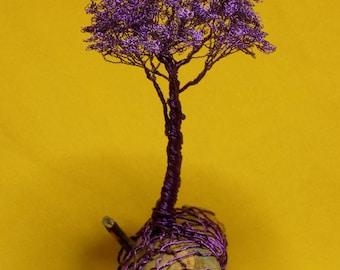 Wire tree, Purple wire