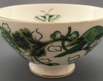 Coalport Cathay Footed Open Sugar Bowl For Coffee