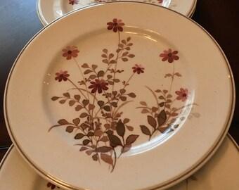 """Noritake Versatone - """"Outlook"""" - Set of 4 Salad Plates - Stoneware - Made in Japan"""