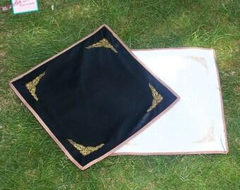 1 anti-sliding 39x39cm, faux fur rug