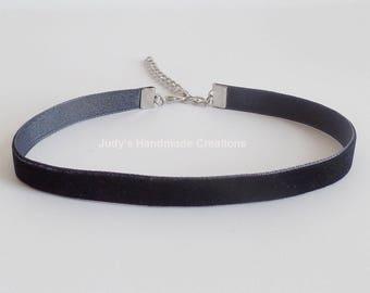 Black Velvet Choker Necklace,Black Choker,Black Velvet Choker, Velvet Choker Necklace, Velvet Black Choker, Popular Jewelry