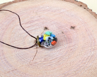 Amazing computer parts pendant | Computer Jewelry | Upcycled Necklace | Techie necklace