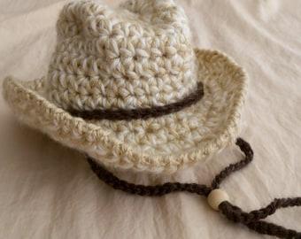 Baby hat - Cowboy Hat -Baby Cowboy Hat - Fedora Hat - Safari Hat -Versatile Baby Hat - Bowler Hat -by JoJosBootique