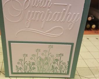 Set of 5 Sympathy cards