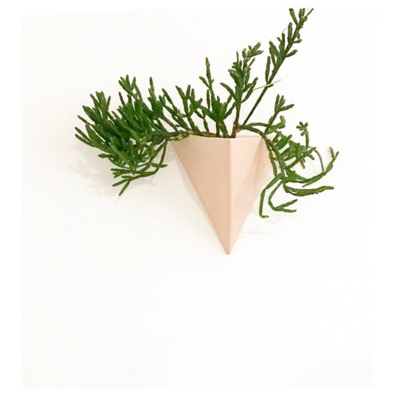 Pyramid Wall Planter